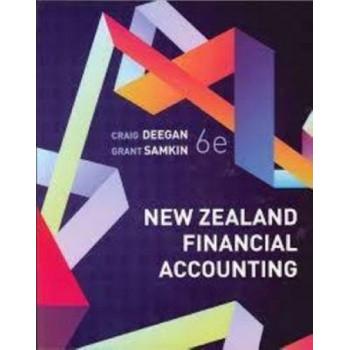 New Zealand Financial Accounting 6E