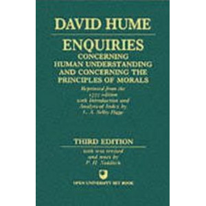 Enquiries Concerning Human Understanding and Concerning the Principles Of Morals (3rd Edition, 1975)