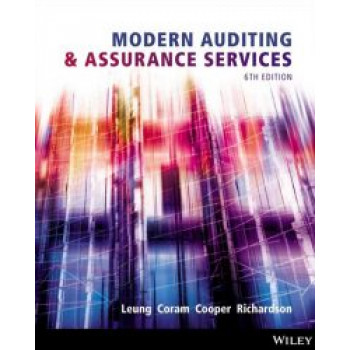 Modern Auditing and Assurance Services 6E Wiley E-text: Powered By Vitalsource with Istudy Card