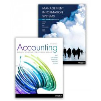 (E-BOOK) Accounting: Business Reporting for Decision Making, 6E Ebook + Management Information Systems, 1E Aus Ebook