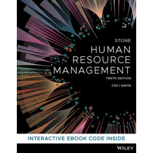 Human Resource Management (10th Edition, 2020)
