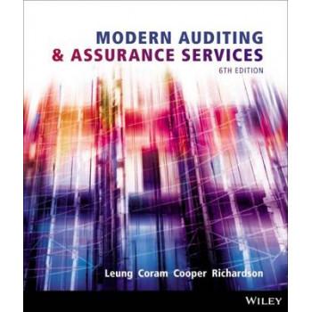 Modern Auditing & Assurance Services 6E