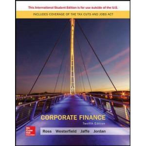 ISE Corporate Finance (12th Edition, 2018)