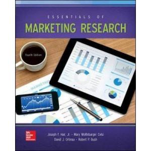 Essentials Of Marketing Research 4E