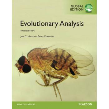 Evolutionary Analysis, Global Edition 5E