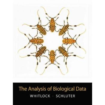 Analysis of Biological Data (International edition)