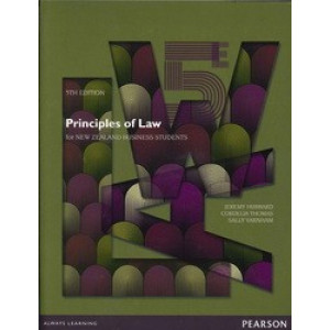 Principles of Law for New Zealand Business Students 5E