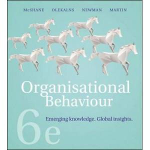 Organisational Behaviour 6E