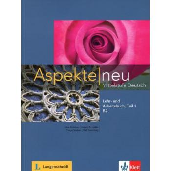 Aspekte neu B2 Lehr- und Arbeitsbuch mit Audio CD Teil 1